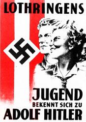 Lothringens Jugend bekennt sich zu Adolf Hitler