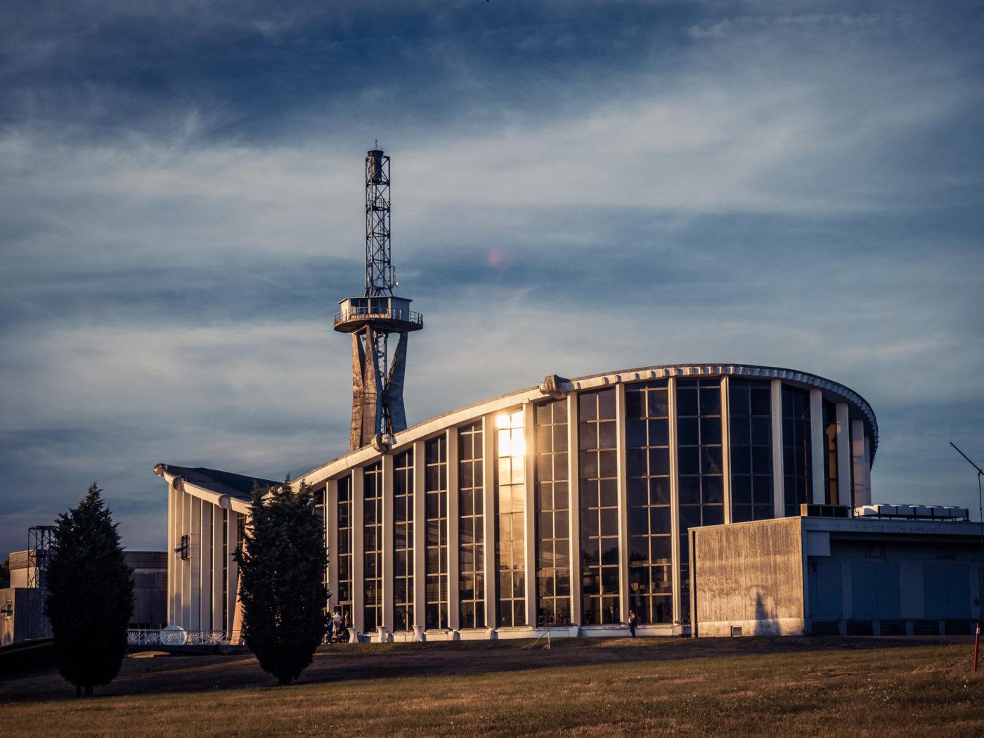 Sendehalle Felsberg-Berus - Longwave transmitter Europe 1