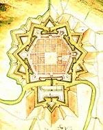 Plan von Saarlouis