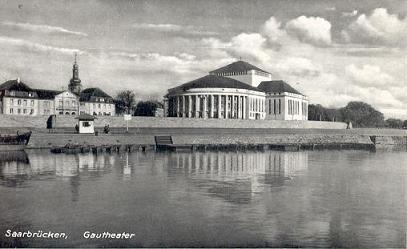 Gautheater Saar-Pfalz 1938