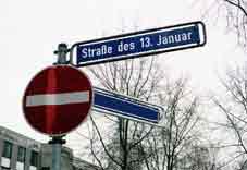 Strasse des 13. Januar