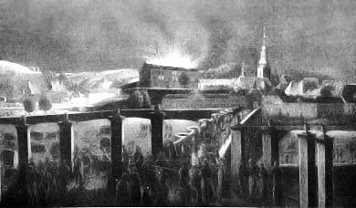 Brand des Saarbrücker Schloss